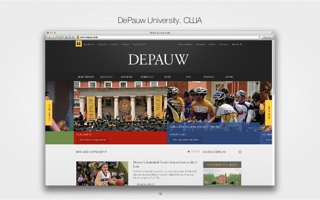 16 DePauw University. США