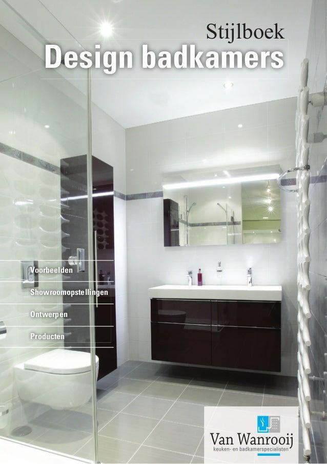 Voorbeelden design badkamers