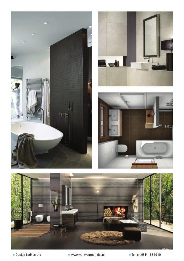 Voorbeelden design badkamers - Badkamers ...