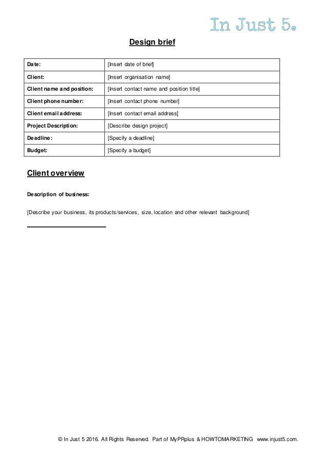 project deadline template