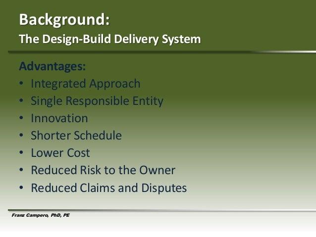 Design build strategies to optimize cost effectiveness in aml v2 Slide 2