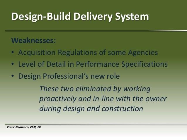 Design build strategies to optimize cost effectiveness in aml v2 Slide 3