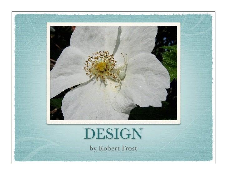 design robert frost