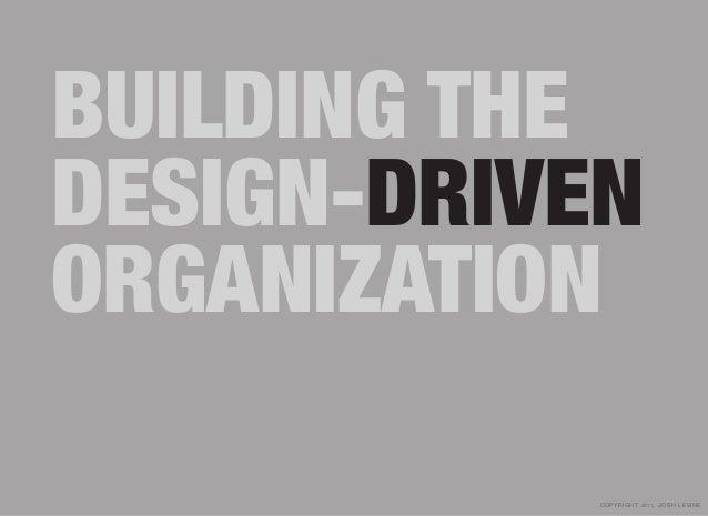 Building The Design-Driven Organization Slide 3