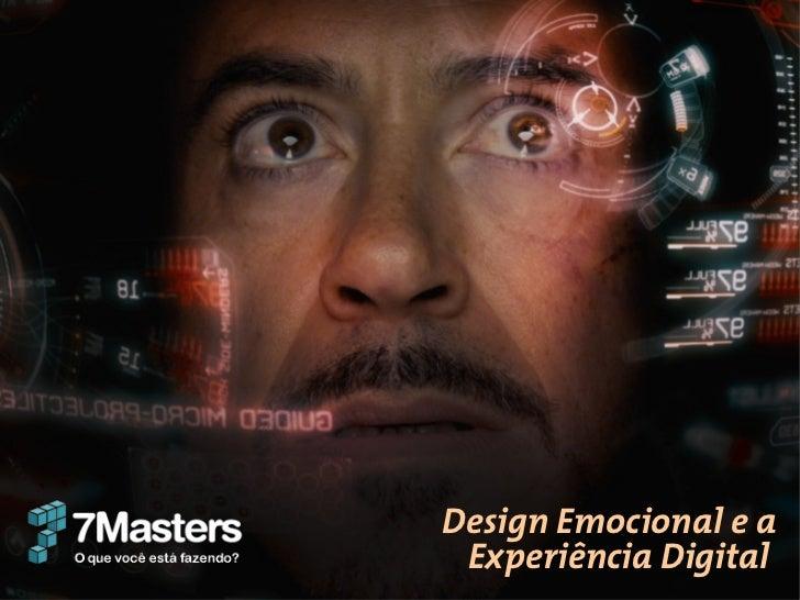 Design Emocional e a Experiência Digital