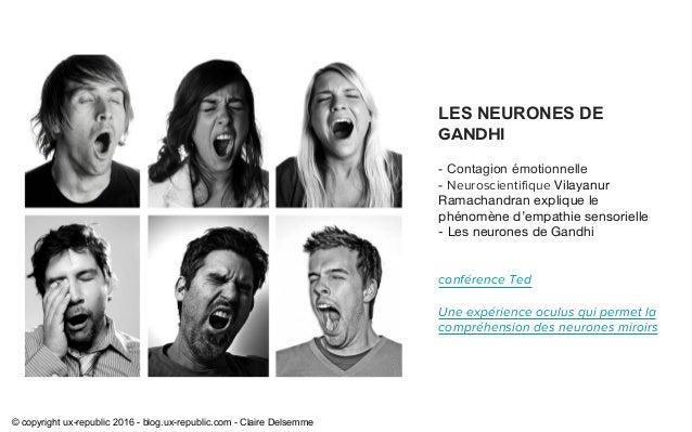 Le design empathique uxrepublic for Neurones miroir