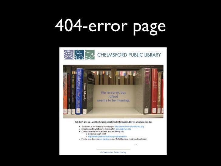 404-error page
