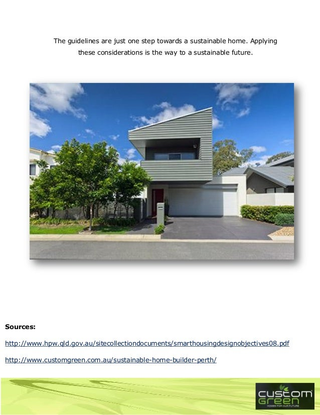 Sustainable home design pdf