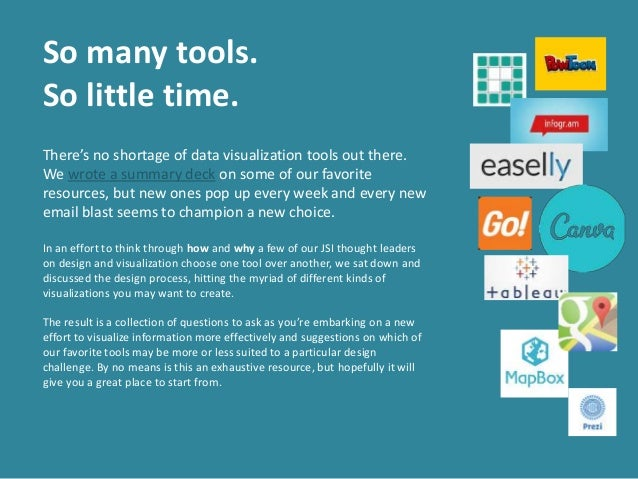 January Designstorm: Picking the Right Tool for the Job Slide 2