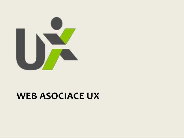 WEB ASOCIACE UX