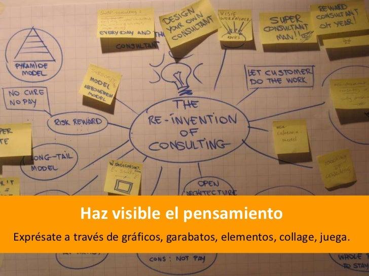 Concéntrate en diseñar la experiencia del consumidor…<br />Grafico por: Diego Rodríguez<br />y terminarás innovando en tod...