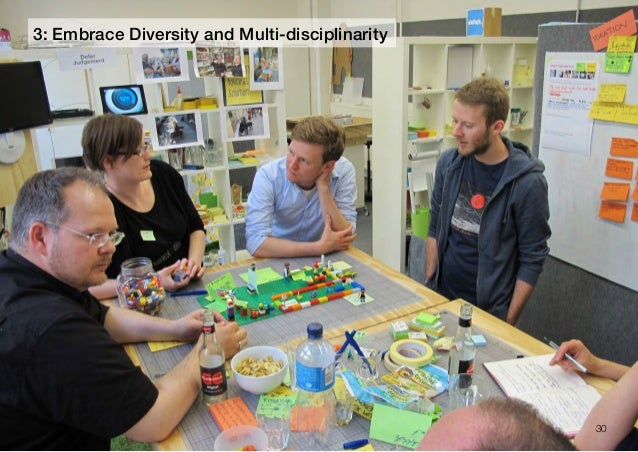 303: Embrace Diversity and Multi-disciplinarity