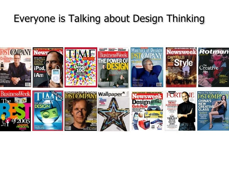 Everyone is Talking about Design Thinking<br />