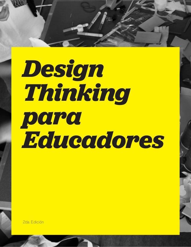 Design Thinking para Educadores 2da. Edición