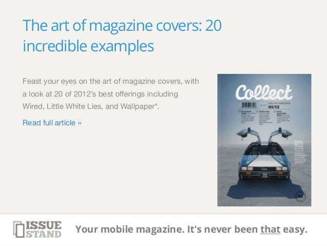 10 easy ways to better design your magazine. Tips & tricks, tutorials…