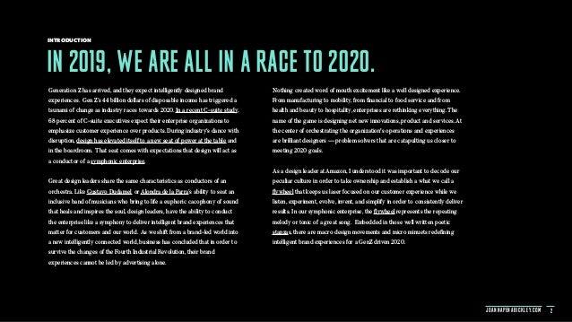 Design 2020 - Ingenuity In The Key of Industry Slide 2