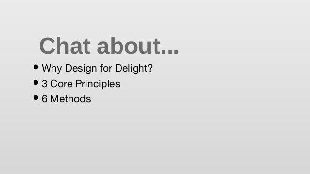 Design for Delight - Innovation Overview Slide 2