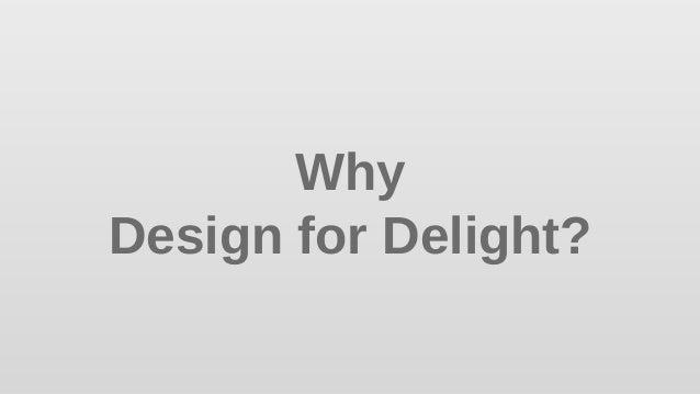 Design for Delight - Innovation Overview Slide 3