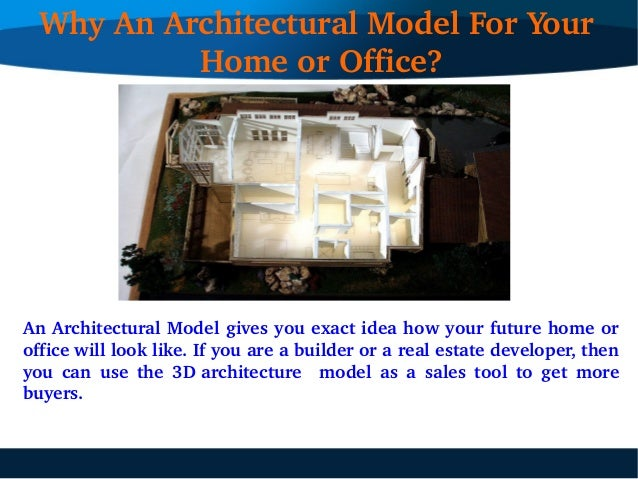 Design a 3D architectural model of your future home