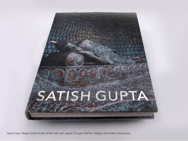 Design of a Coffee Table Book Artist Satish Gupta