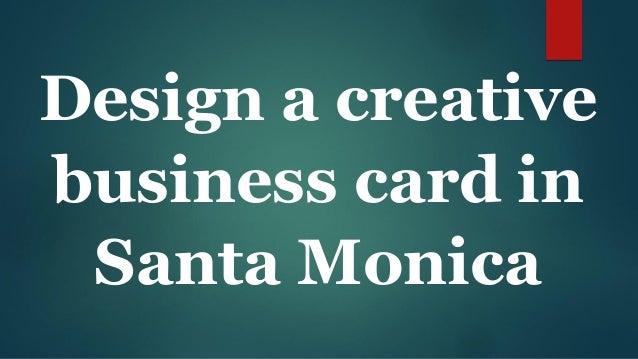 Design a creative business card printing in santa monica 2 colourmoves