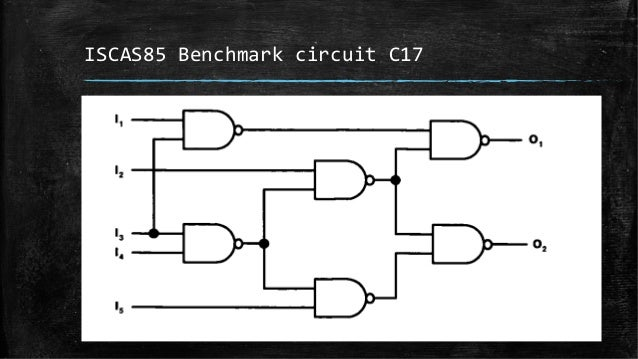 design and implementation of neural network based circuits for vlsi t switched outlet wiring diagram iscas85 benchmark circuit c17