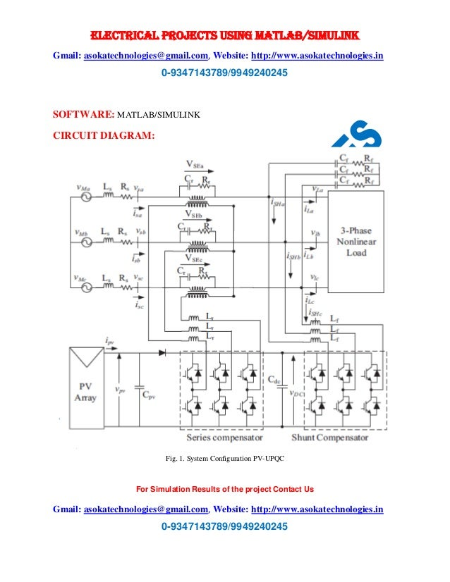 Design And Performance Analysis Of Three Phase Solar Pv Integrated Up