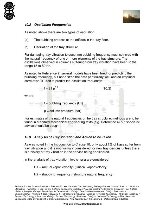 design and rating of trayed distillation columns rh slideshare net Types of Column Trays Valvetrain Organizer Tray