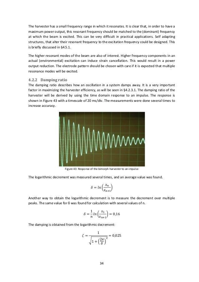 thesis on piezoelectric harvester