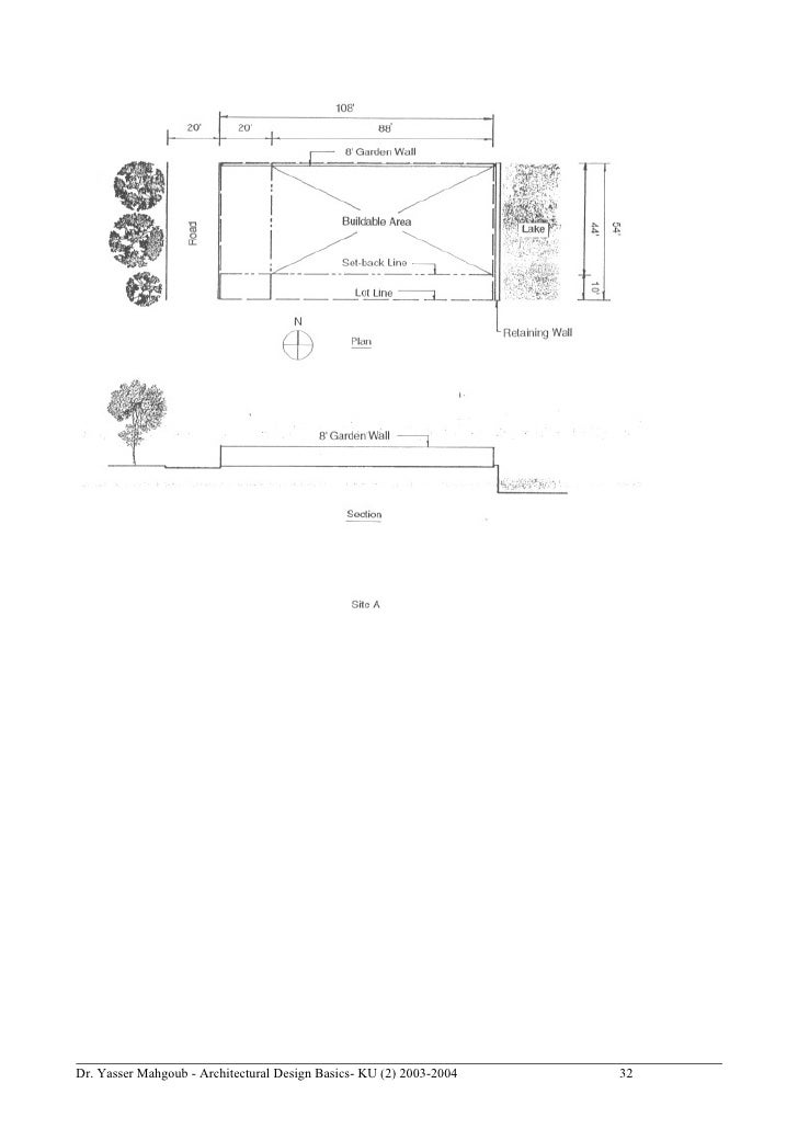Charming Dr. Yasser Mahgoub   Architectural Design Basics  KU (2) 2003 2004 31; 32.