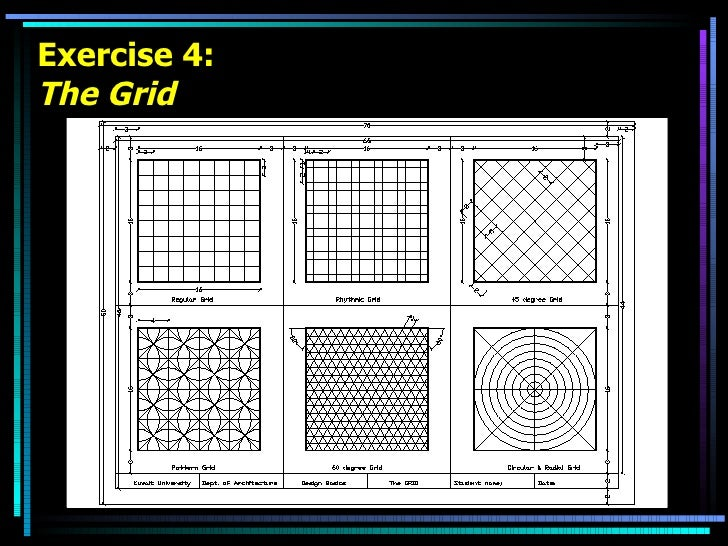 Exercise 4: The Grid