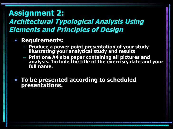 <ul><li>Requirements: </li></ul><ul><ul><li>Produce a power point presentation of your study illustrating your analytical ...