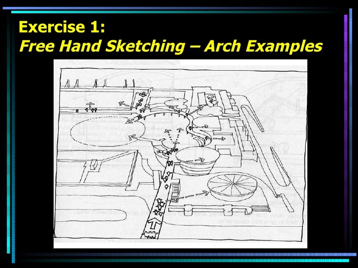 Exercise 1: Free Hand Sketching – Arch Examples
