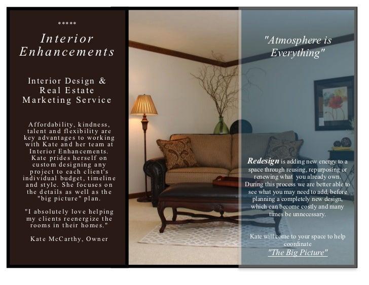 Interior Enhancements, Inc. Design Brochure