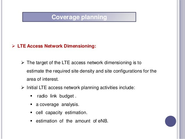 Lte optimization for Inclement weather policy template