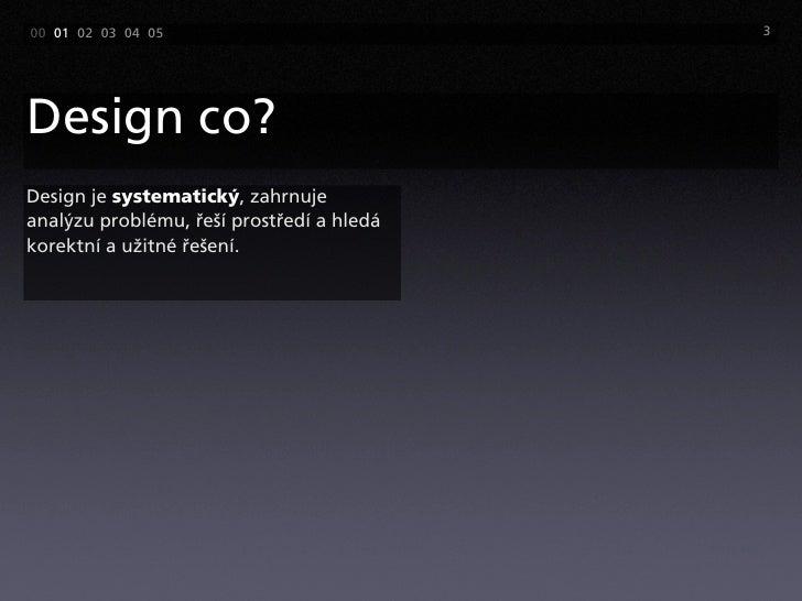 Design co? Slide 3