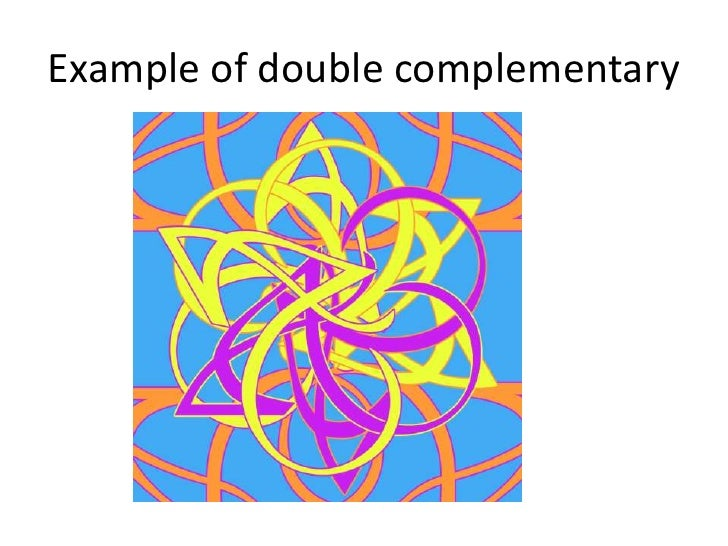 Double Complimentary Or Tetradic2 Sets Of Opposite Colors 12