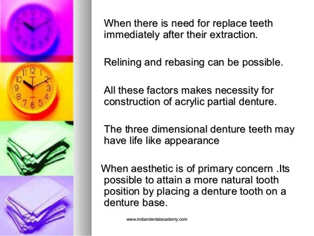 When there is need for replace teethWhen there is need for replace teeth immediately after their extraction.immediately af...