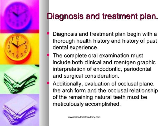 Diagnosis and treatment plan.Diagnosis and treatment plan.  Diagnosis and treatment plan begin with aDiagnosis and treatm...
