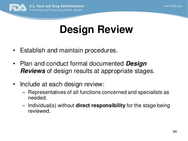 design control fda requirements, Presentation templates