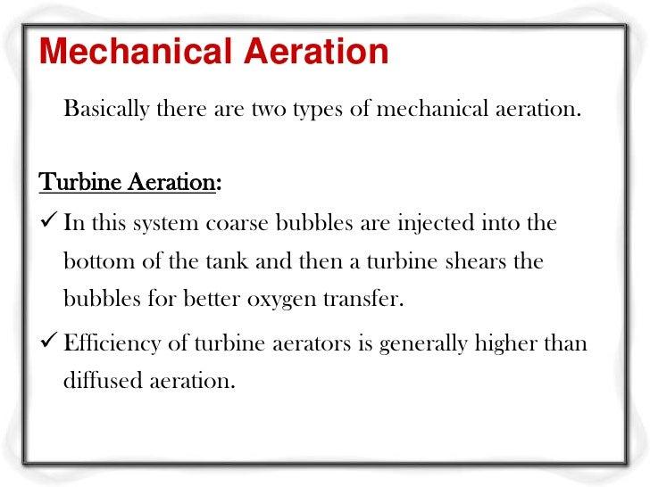 Common surface aerators