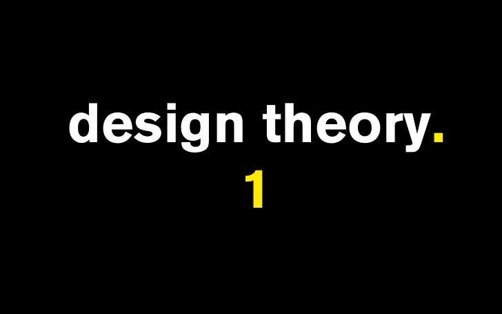design theory.       1