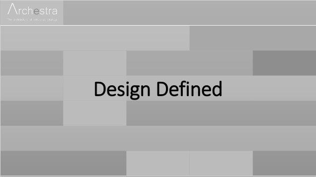 Design Defined