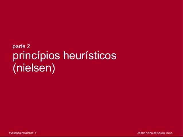 parte 2   princípios heurísticos   (nielsen)                                                                              ...