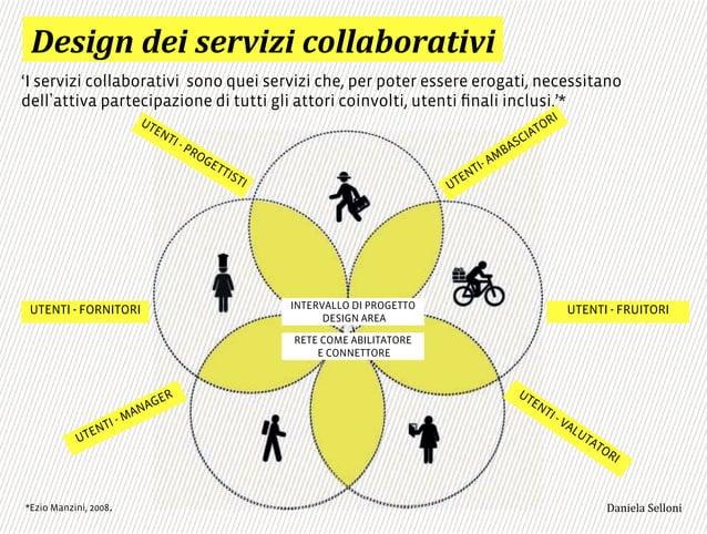 'I servizi collaborativi sono quei servizi che, per poter essere erogati, necessitano dell attiva partecipazione di tutti ...