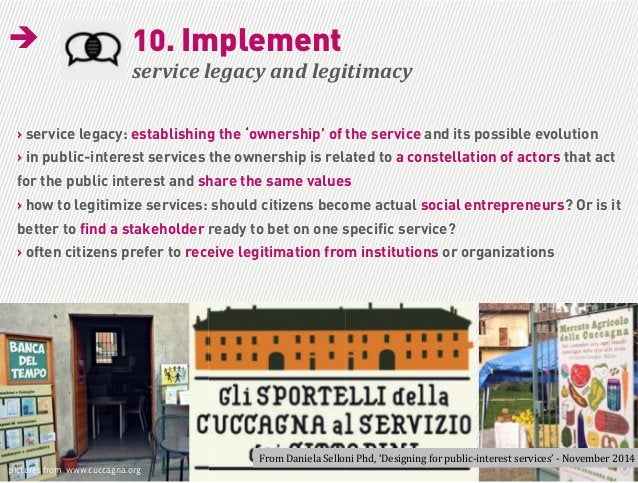 Daniela Selloni | How citizens activism is changing the way we design services supervisor | Anna Meroni | assistant superv...