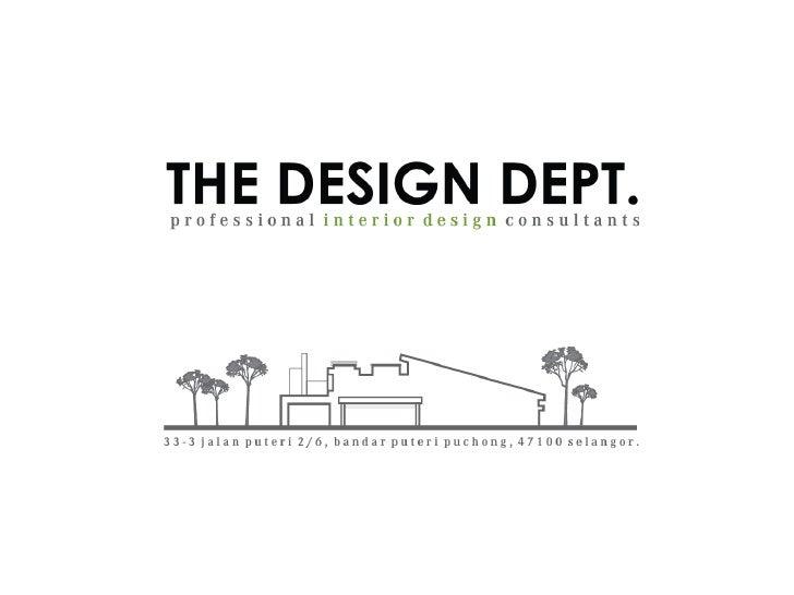 The Dsgn Dept Portfolio