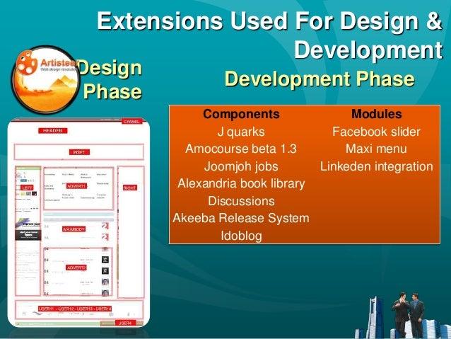 design  u0026 development of job portal system using joomla