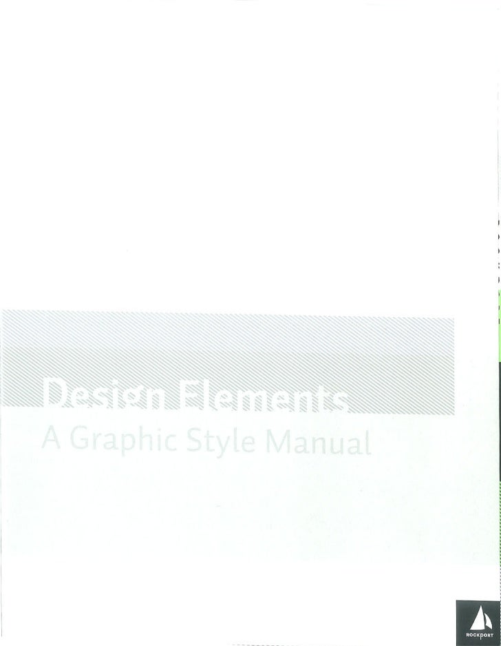 Design elements   a graphic style manual Slide 3