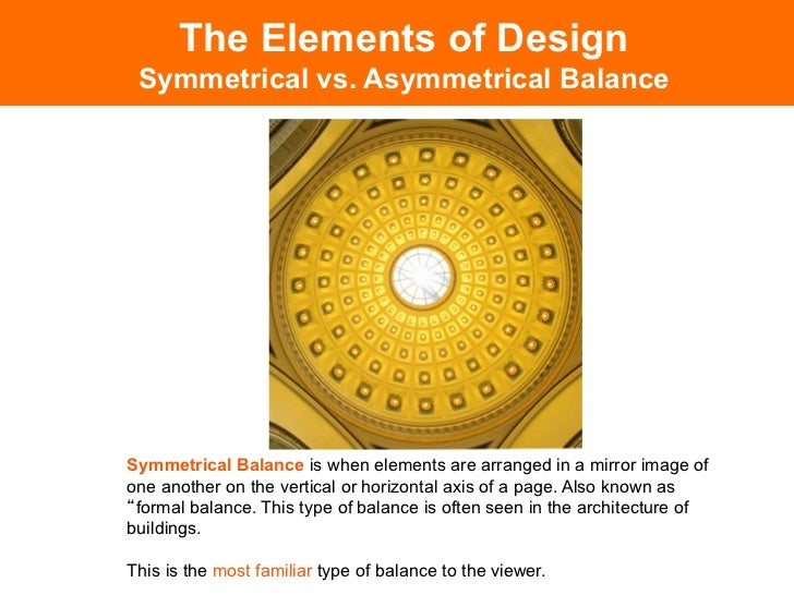 The Elements Of Design Symmetrical